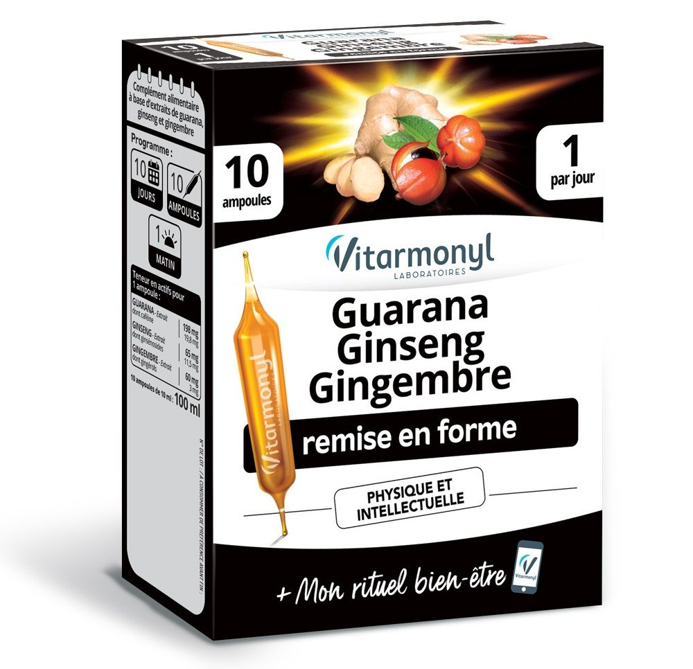 Guarana Ginseng Gingembre