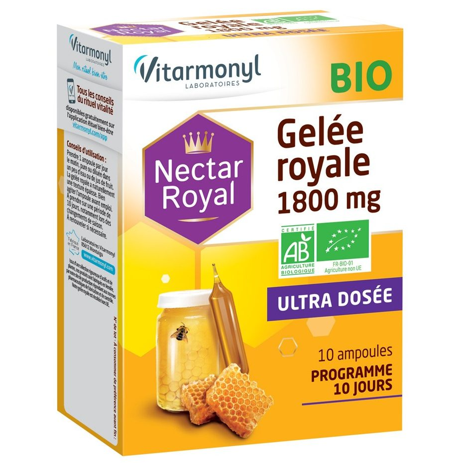 Gelée royale BIO 1800 mg