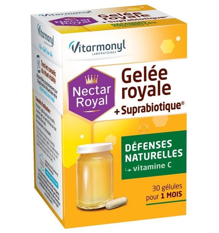 Image Gelée royale + suprabiotique