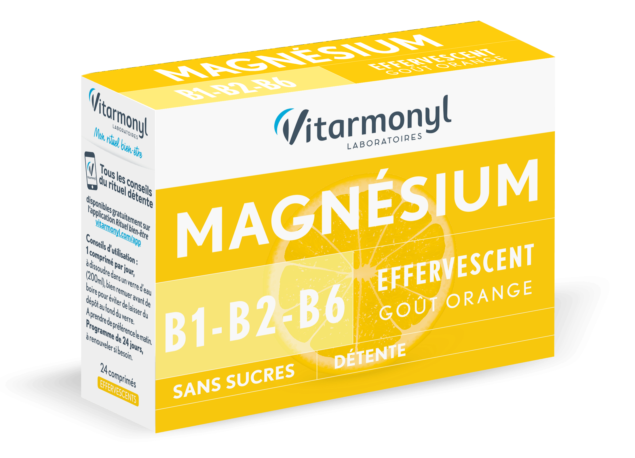 Image Magnésium + B1, B2, B6
