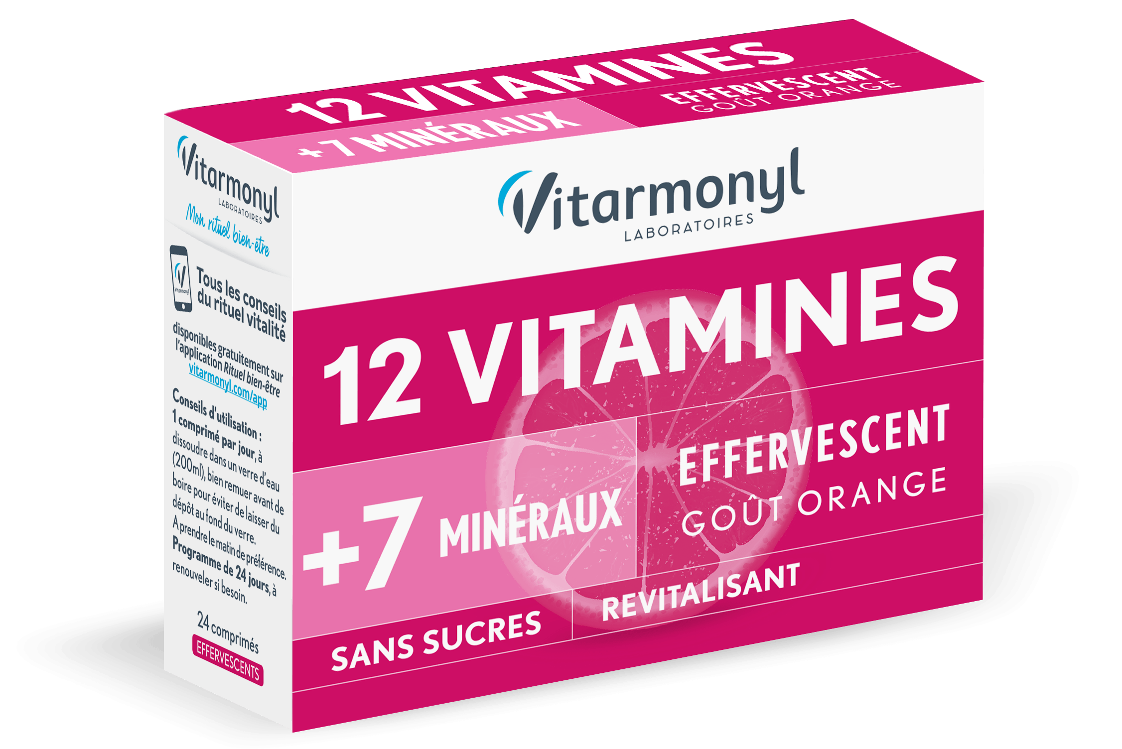 Image 12 vitamines + 7 Oligo-éléments