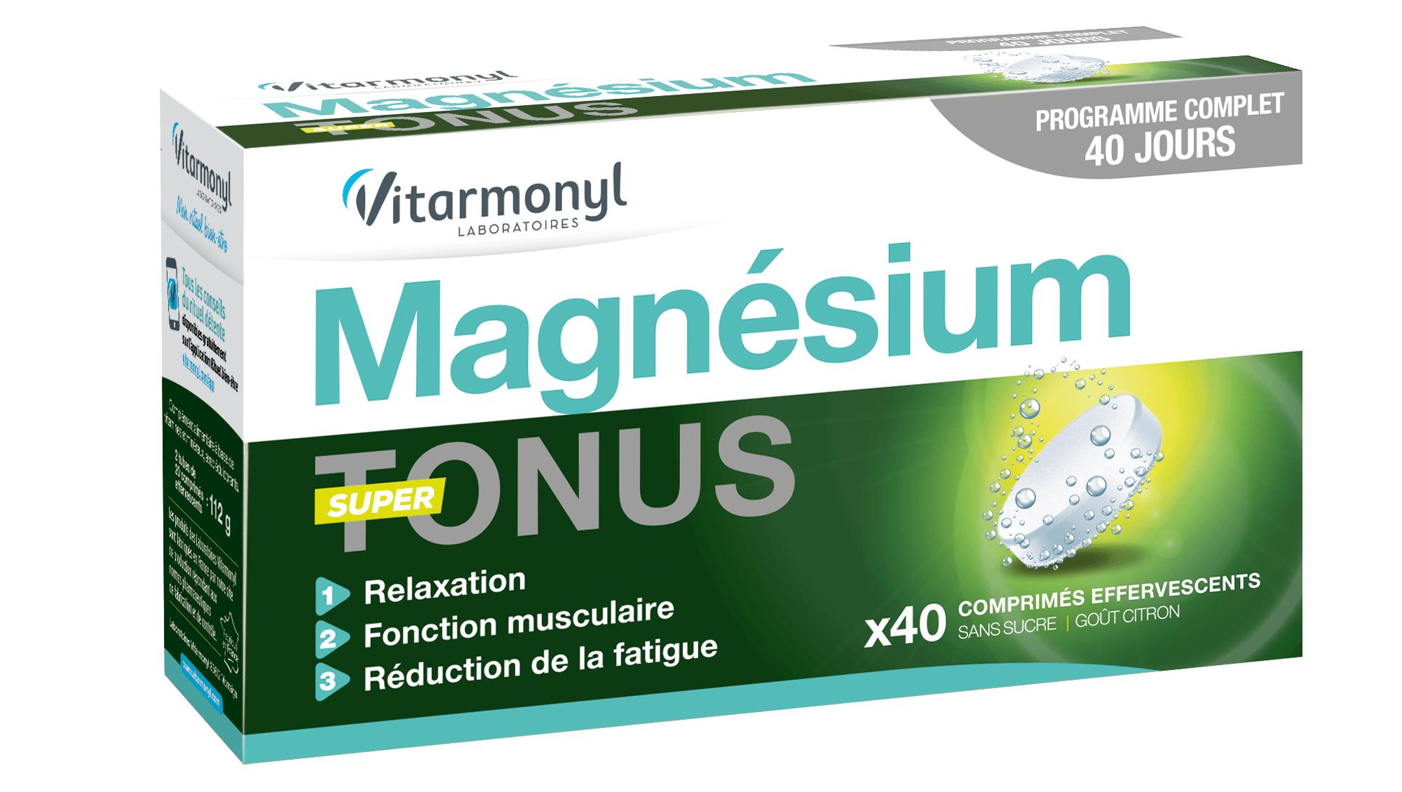 Magnésium Super Tonus