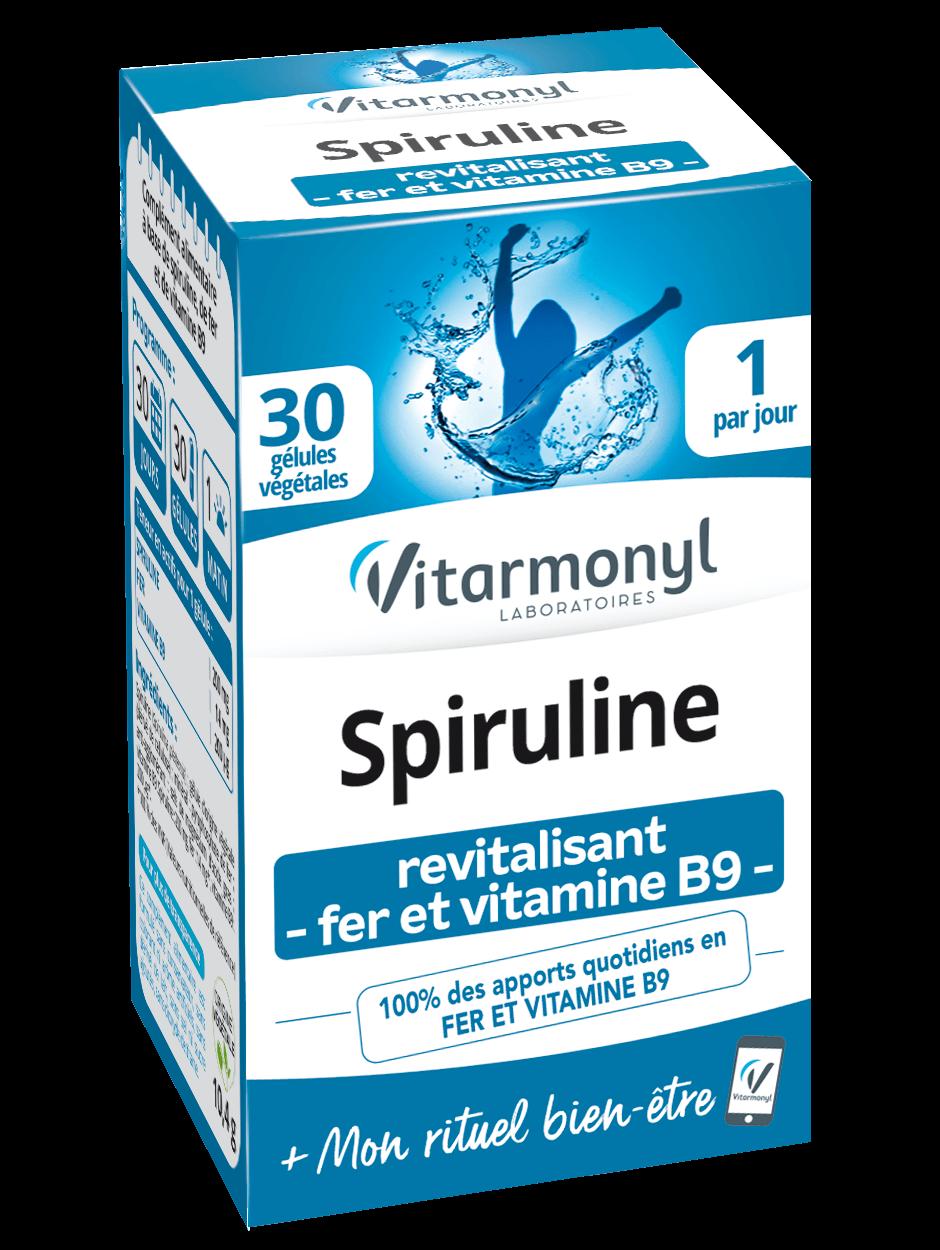 Spiruline - Fer - Vitamine B9
