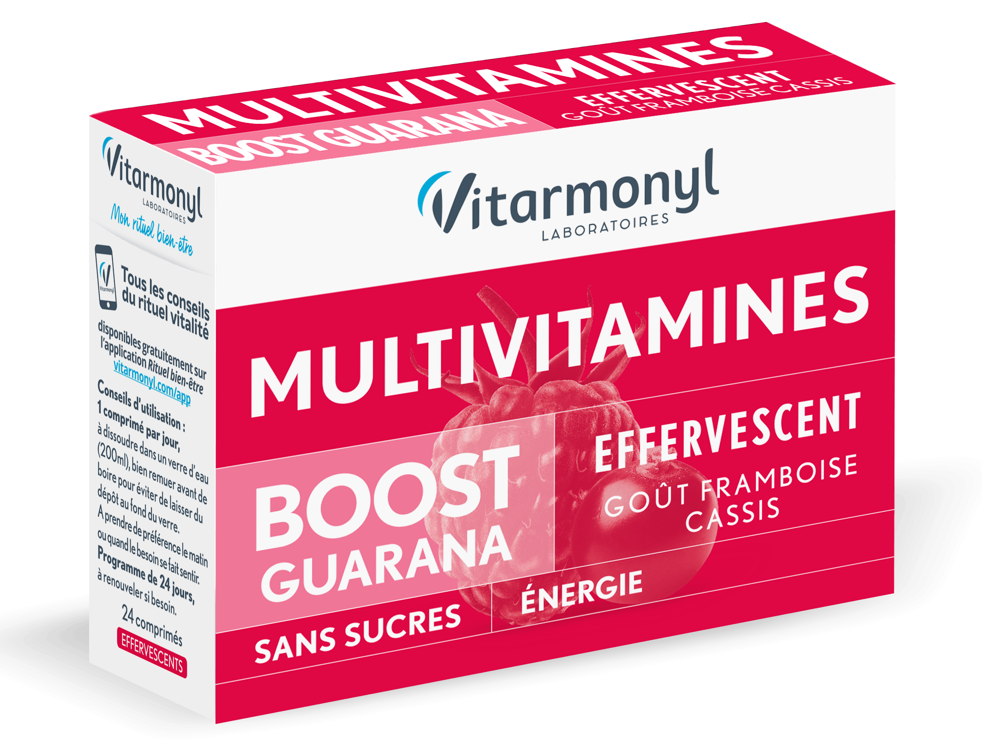 Image Multivitamines BOOST GUARANA