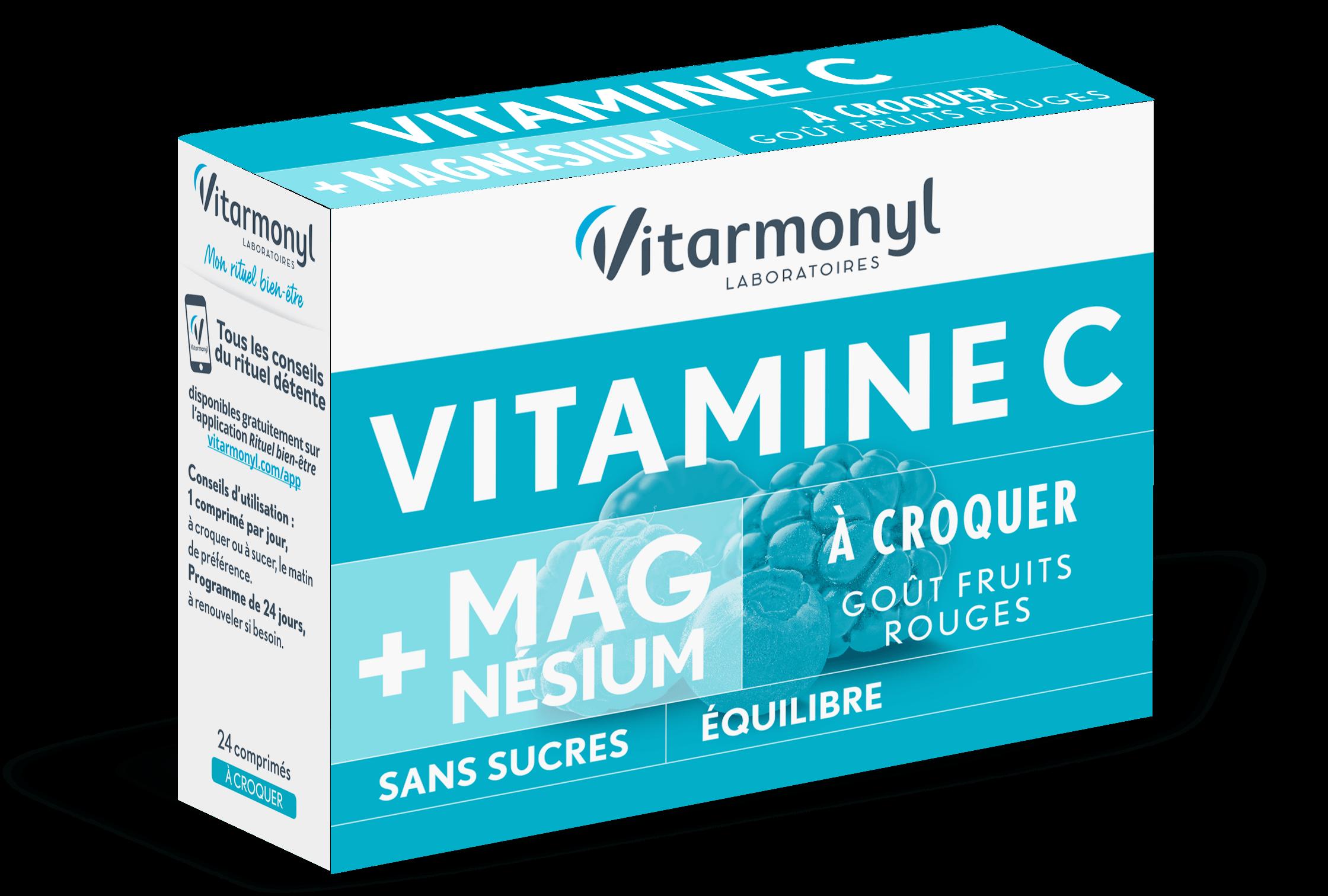 Vitamine C - Magnésium